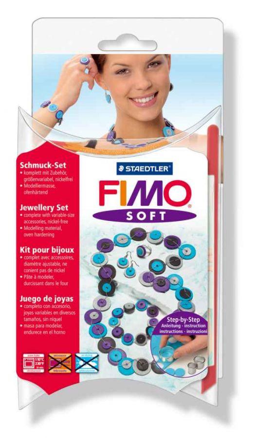 FIMO Soft šperková sada Vázané šperky Staedtler