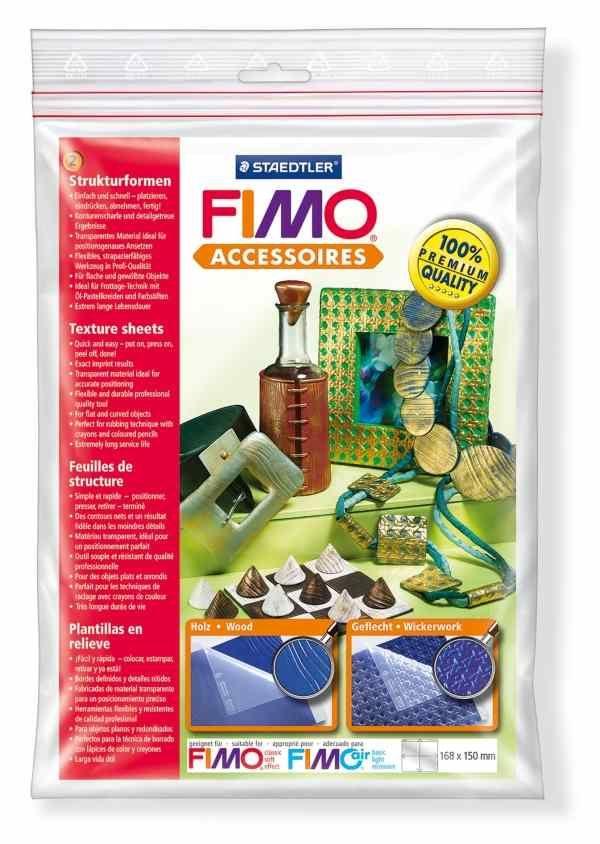 FIMO Textura Wood - Basket Staedtler