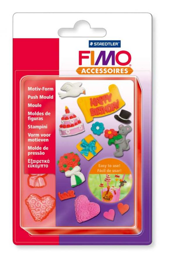 FIMO Vytlačovací Forma Oslava Staedtler