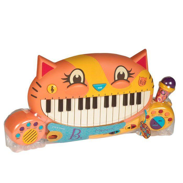 Kočičí piáno Meowsic B Toys