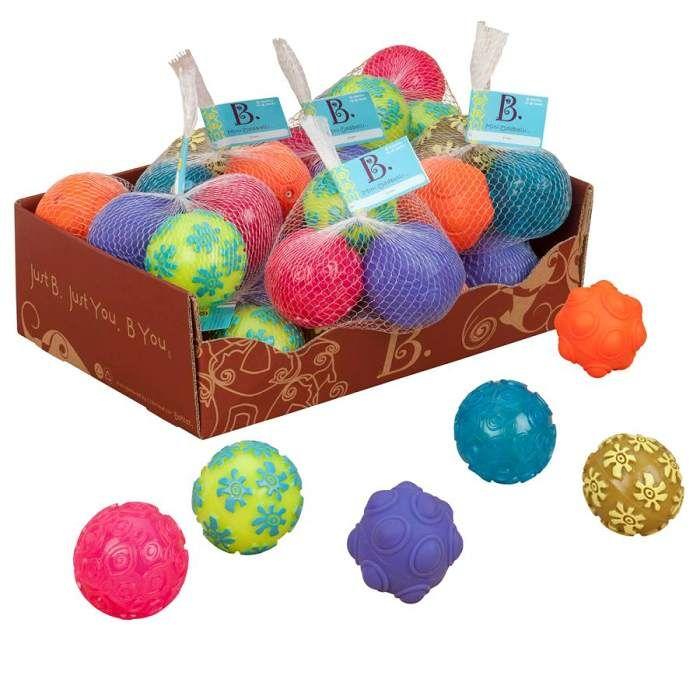 Mini míčky Oddballs Pink B Toys