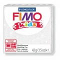 Modelovací hmota Fimo kids 42g bílá se třpytkami