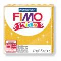 Modelovací hmota Fimo kids 42g zlatá se třyptkami