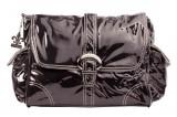 Přebalovací taška Buckle Bag Black Corduroy Kalencom