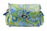 Přebalovací taška Buckle Bag Gypsy Paisley Green Kalencom