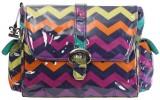 Přebalovací taška Buckle Bag Rainbow Zigzag Kalencom