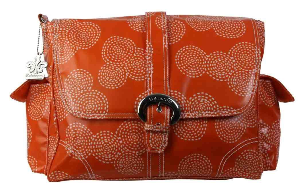 Přebalovací taška Buckle Bag Stitches Orange Kalencom