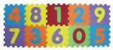 Puzzle pěnové 140x56 cm čísla Ludi