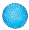 Skákací a masážní míč 45cm modrý Ludi