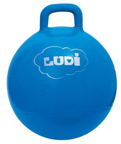 Skákací míč 45cm modrý Ludi