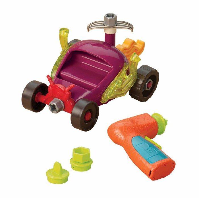 Stavebnice závodní auto B Toys
