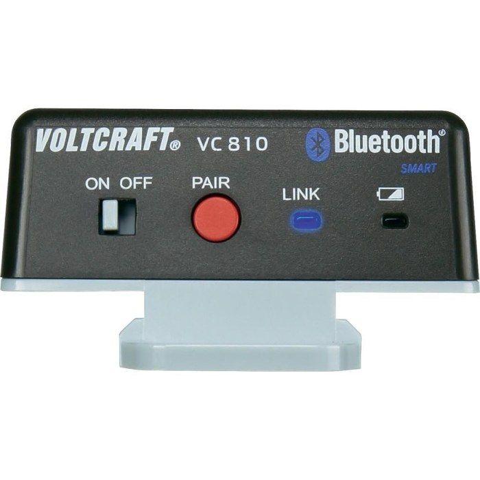 Bluetooth adaptér Voltcraft VC810 vhodný pro řadu VC8xx