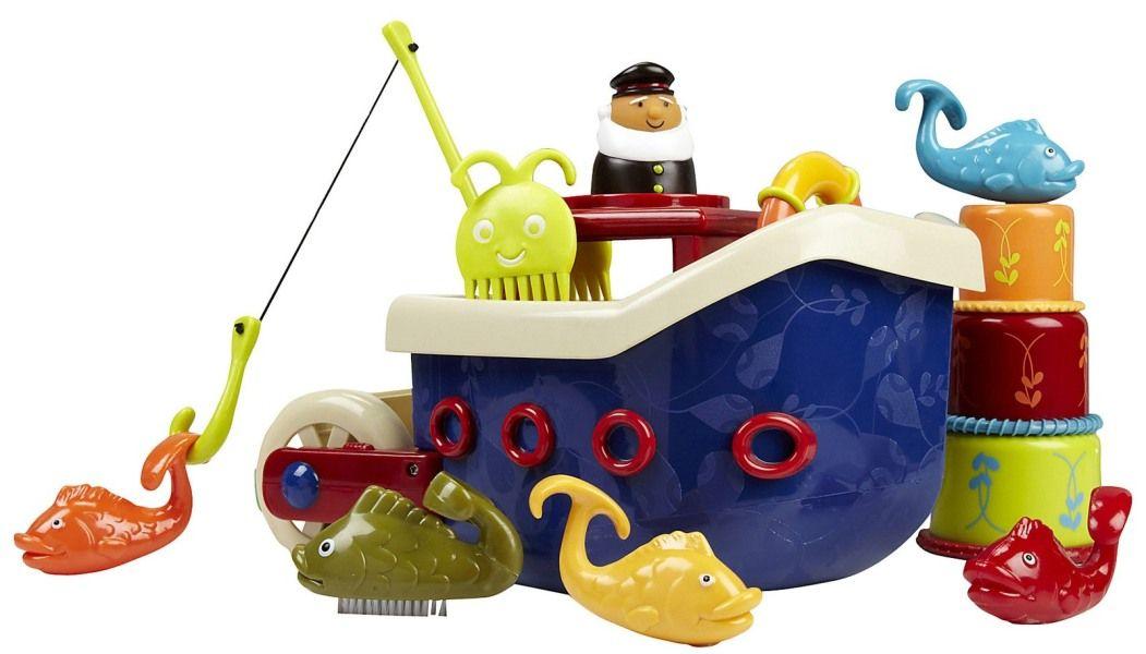 Loď s kapitánem Fish & Splish B Toys