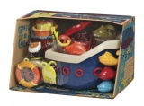 Loď s kapitánem Fish & Splish B Toys