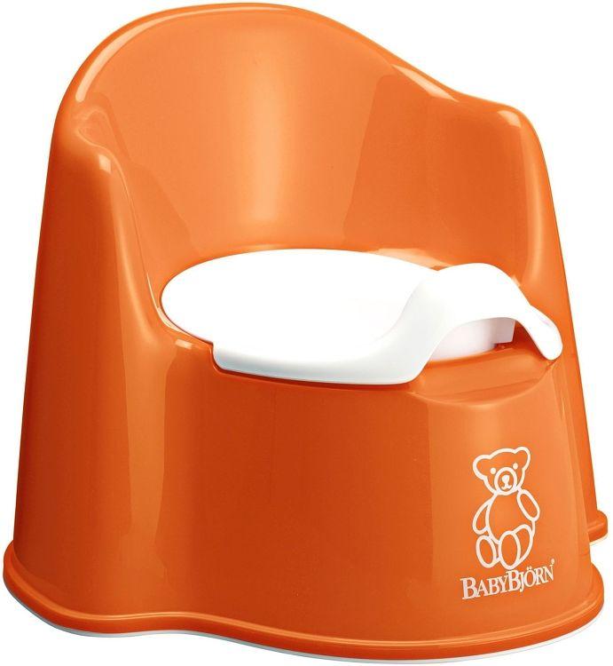Nočník křesílko BabyBjörn Potty Chair Orange oranžový