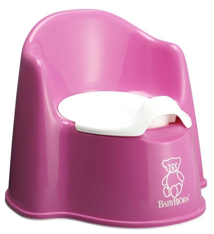 Nočník křesílko BabyBjörn Potty Chair Pink růžový