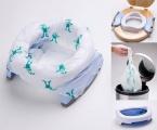 Potette Plus 2v1 - cestovní nočník / skládací redukce na WC - bílý