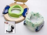 Potette Plus 2v1 - cestovní nočník / skládací redukce na WC - zelený