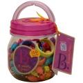 Spojovací korále a tvary Beauty Pops 150 ks B.Toys
