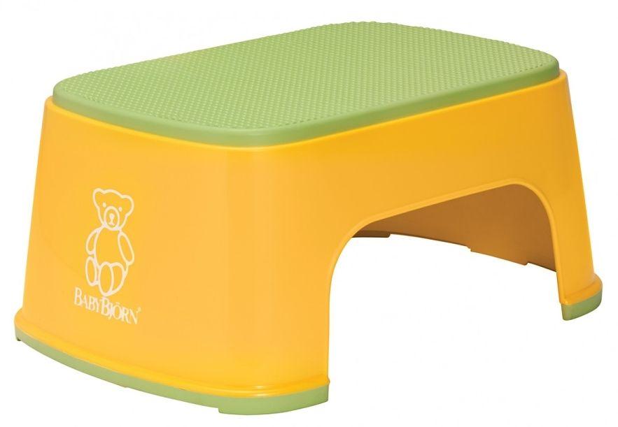 Stupátko BabyBjörn Step Stool Sunflower žluté