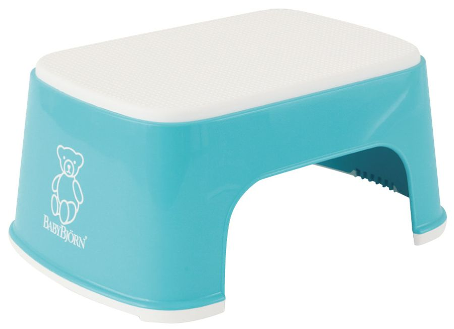 Stupátko BabyBjörn Step Stool Turquoise tyrkys