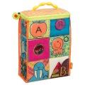 Textilní kostky ABC Block Party B.Toys