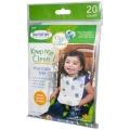 Bryndáky na jedno použití 20 ks - jednorázové bryndáčky Summer Infant