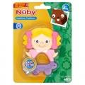 Kousátko mix - panenka Nuby Easy Teethe (3m) Dolly