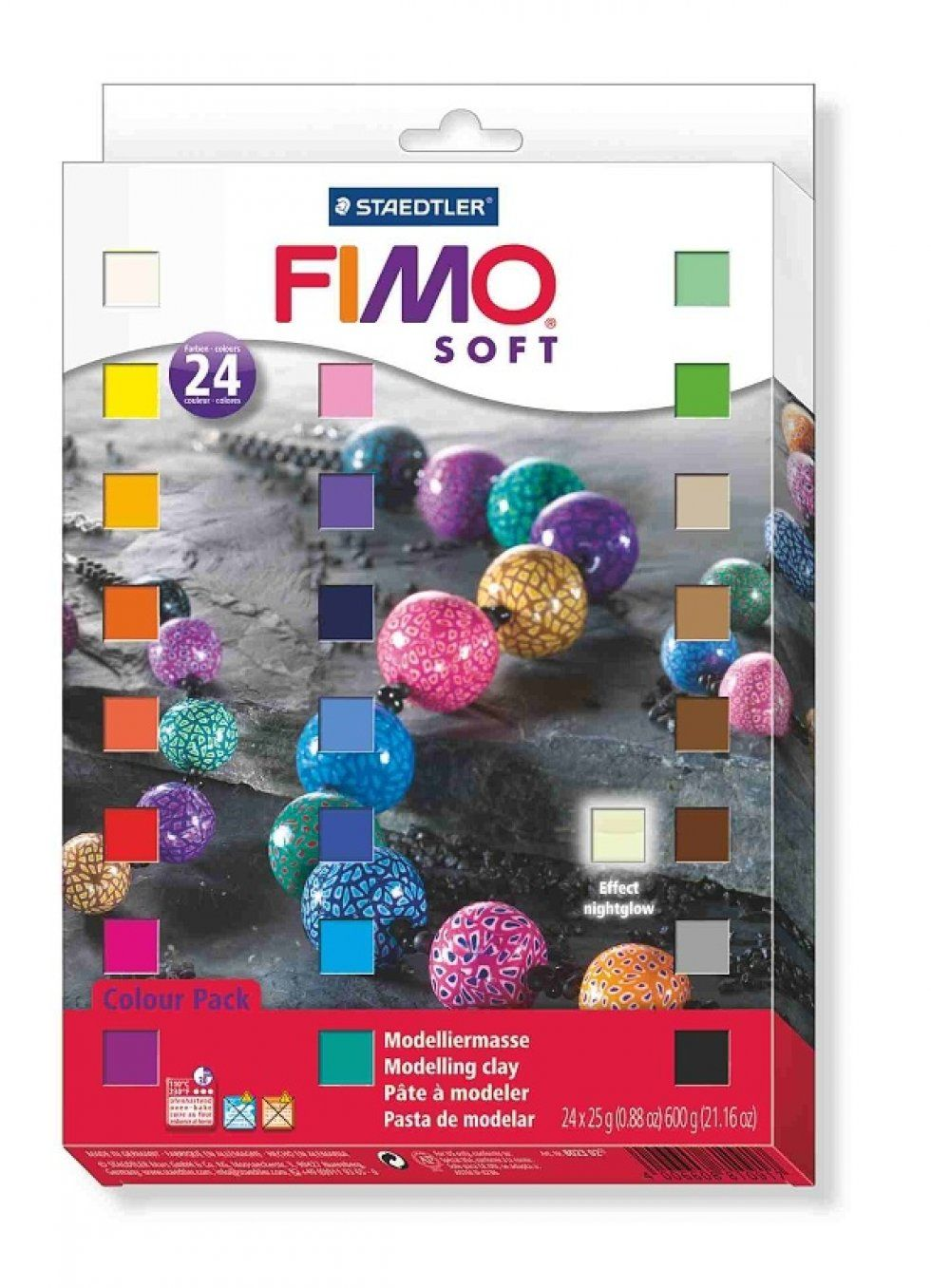 Kreativní sada Fimo Soft sada 24 barev