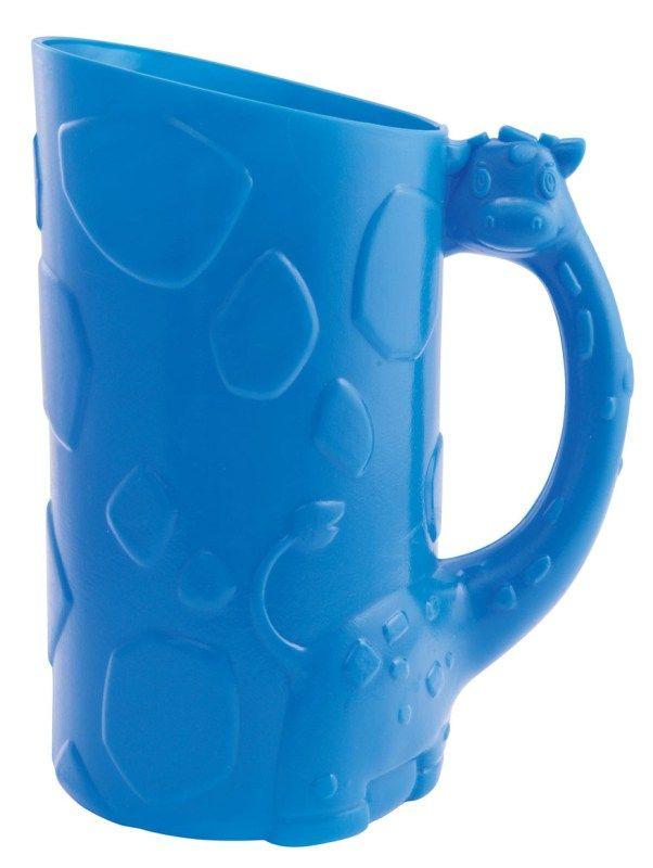 Nádoba na smývání šampónu modrá žirafa Munchkin