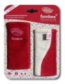 Návleky FumBee na nosítko Manduca red - červené