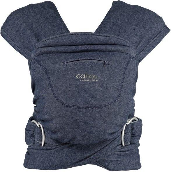 Nosítko Caboo+organic 15 Indigo Marl modrošedé Close Parent