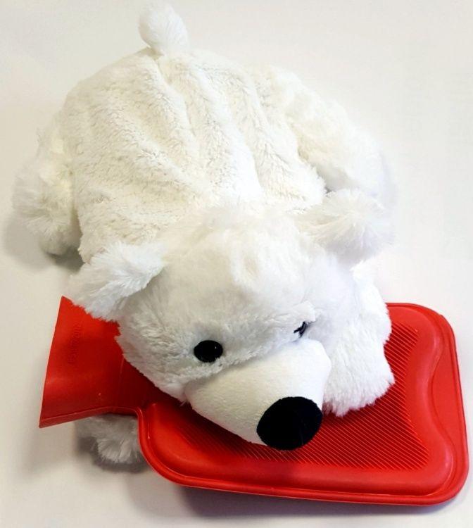 Hřejivý plyšák - dětský termofor lední medvěd