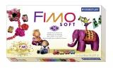 Kreativní sada Fimo Basic Set Soft sada - základní Retro