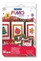 Kreativní sada Fimo Basic Set Soft vánoční sada + vytlačovací forma