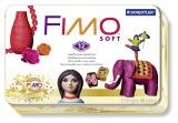 Kreativní sada Fimo Soft sada kovový box Retro