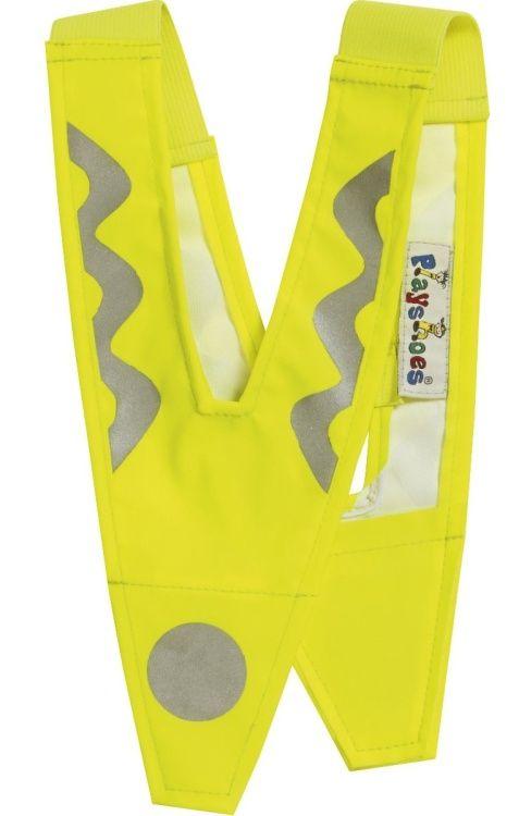 Reflexní V véčko - vesta Playshoes