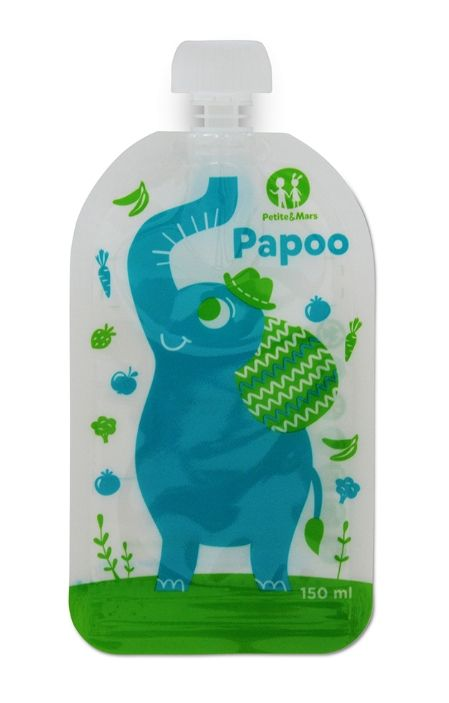 Sáčky na zamrazení - kapsička na jídlo Papoo