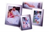 Stříbrný fotorámeček YL 220 10 x 15 cm