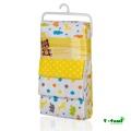 T-Tomi Látkové pleny, sada 4 kusů, žluté žirafy