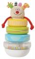 Taf Toys Pyramida z kroužků Příšerka Kooky