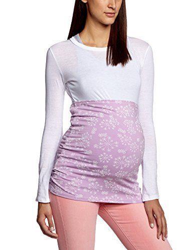 Těhotenský pás Belly Band Lässig Dotted Spring fialkový