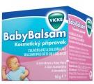 VICKS BABYBALSAM - balsam s vůní rozmarýnu a levandule od 6 měsíců