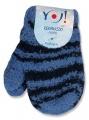 Zimní kojenecké rukavičky modré Yo