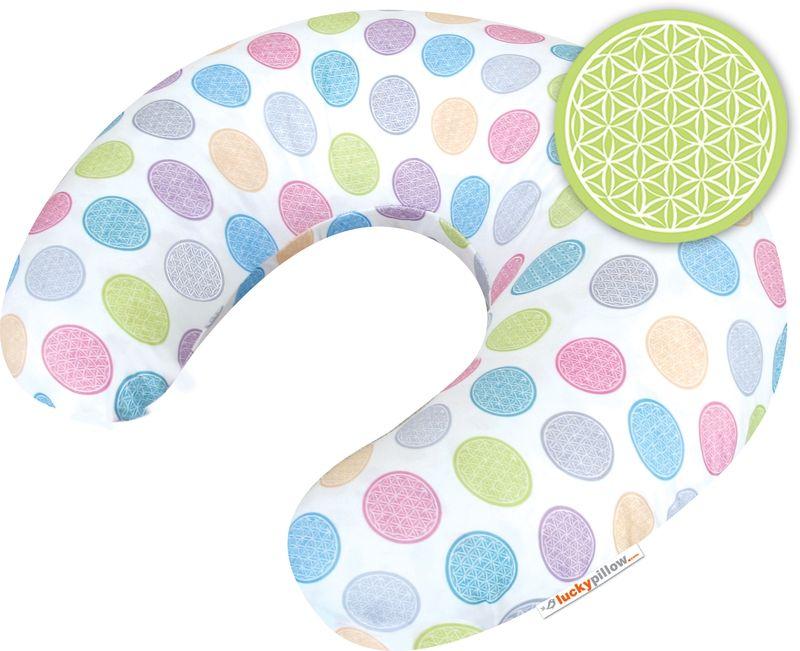 Kojící polštář Lucky Pillow - KVĚTINA ŽIVOTA symbol života