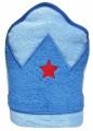 Dětská osuška s kapucí Playgro modrá
