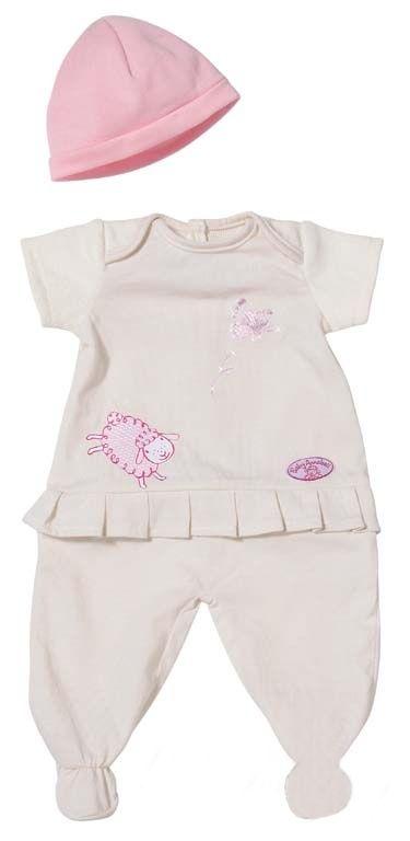 Dupačky s čepičkou Baby Annabell Zapf Creation
