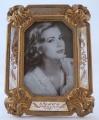 Fotorámeček zdobený se zrcadlovým rámem 10 x 15 cm