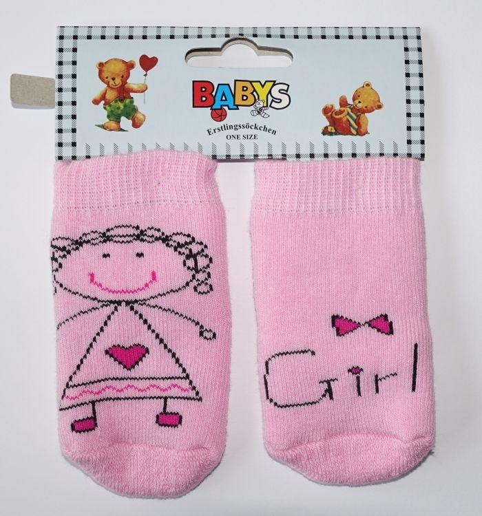 Kojenecké ponožky dívčí 0-12 měsíců