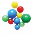 Míčky různobarevné - sada míčků na koupání Farlin 8ks